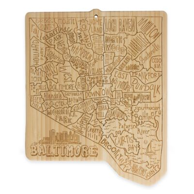 Totally Bamboo Baltimore Cutting/Serving Board