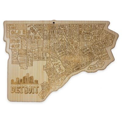 Detroit Cutting/Serving Board