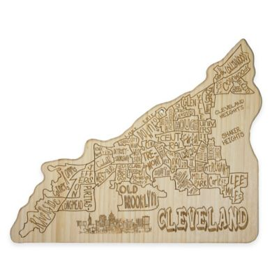 Totally Bamboo Cleveland Cutting/Serving Board