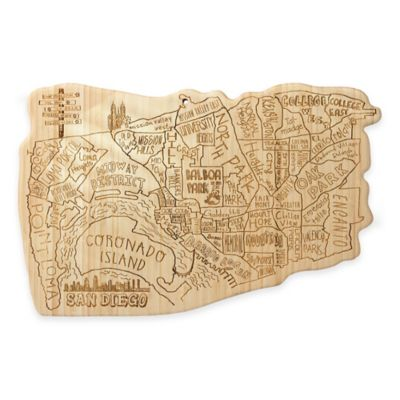 San Diego Cutting/Serving Board