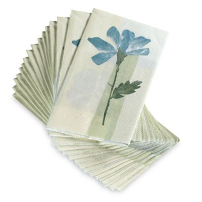 Croscill® Spa Leaf Disposable Buffet/Guest Towels (Set of 16)