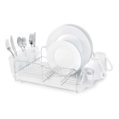 Polder® Advantage 3-Piece Stainless Steel Dish Rack