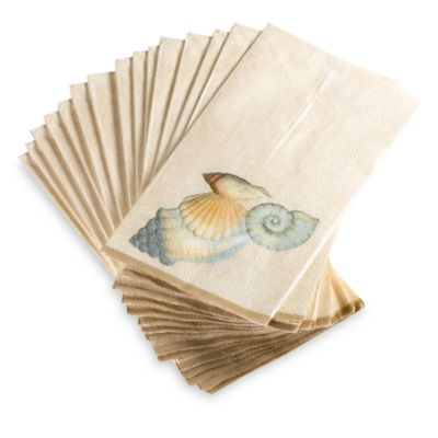 Seychelles Disposable Buffet/Guest Towels by Croscill (Set of 16)