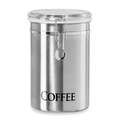 "Oggi™ 60 oz. Stainless Steel ""Coffee"" Canister"