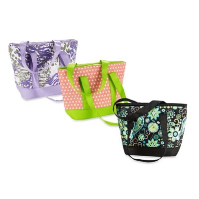 Fit & Fresh® Anna Insulated Lunch Tote in Flamingo Dot
