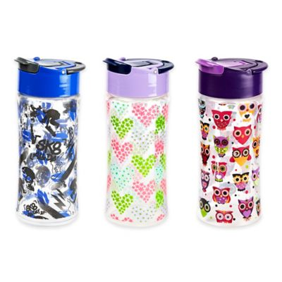 Fit & Fresh 16 oz. Tritan Kids Water Bottle in Hearts