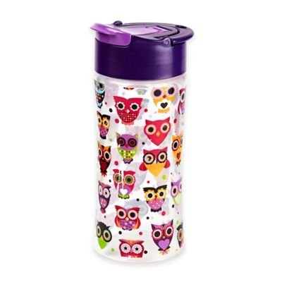 Fit & Fresh 16 oz. Tritan Kids Water Bottle in Owls