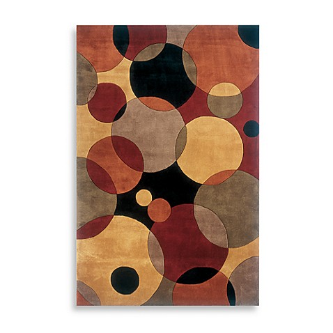 "New Wave NW37 Black 5' 3"" x 8' Room Size Rug"