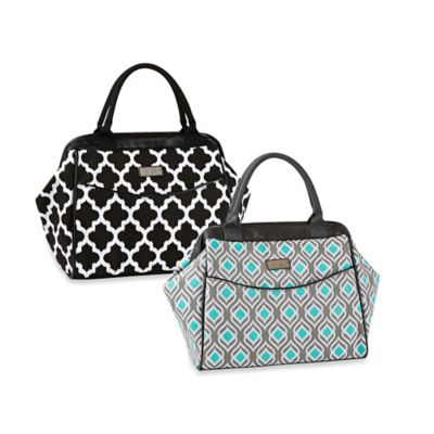 Fit & Fresh® Sydney Ikat Insulated Lunch Tote in Black