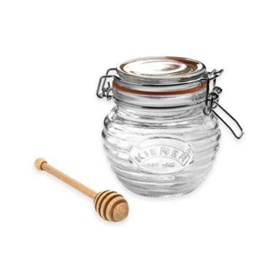 Clear Honey Pot