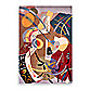 New Wave NW61 Multi-Colored 5-Foot 3-Inch x 8-Foot Room Size Rug