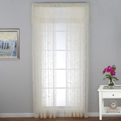 Coventry 63-Inch Window Curtain Panel in Ivory