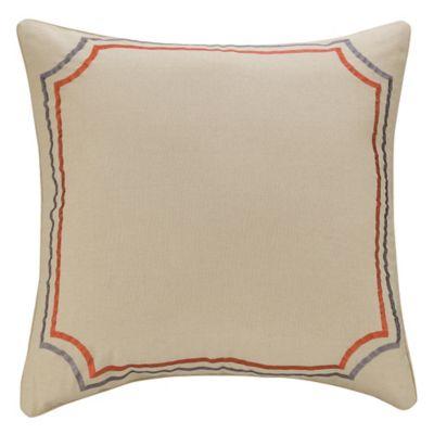 Grenada European Pillow Sham in Linen