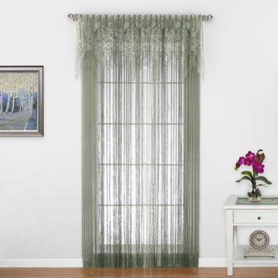Gala 4-Way Window Valance in Silver Sage