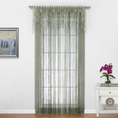 Gala 84-Inch Window Curtain Panel in Ecru