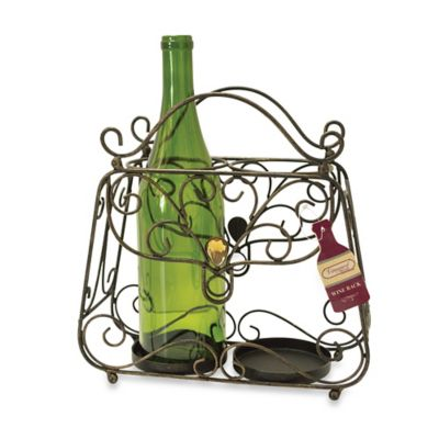 Boston Warehouse® Vineyard Road Purse Wine Bottle Holder