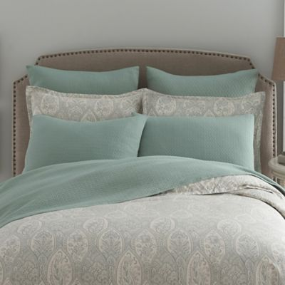 Modern Living Sienna Paisley Standard Pillow Sham in Abyss