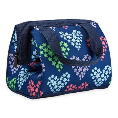 Fit & Fresh® Kids Riley Insulated Lunch Bag in Heart Flowers