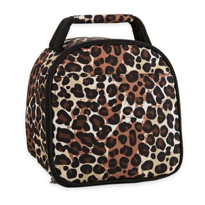 Fit & Fresh® Kids Gabby Cheetah Print Insulated Lunch Bag in Brown
