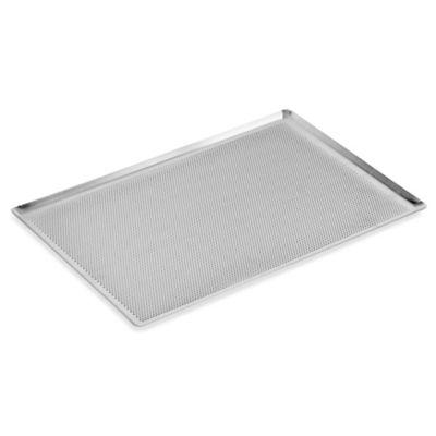 Paderno® Perforated 12-Inch x 16-Inch Aluminum Baking Sheet