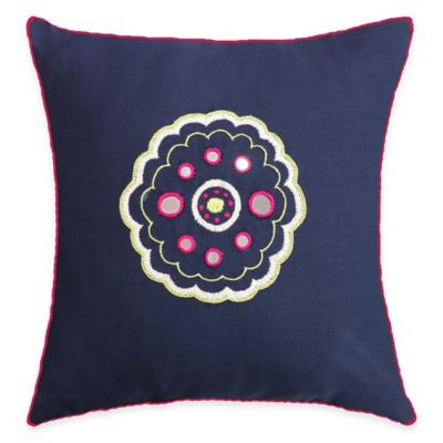 SPUN™ by Welspun Threads With a Soul Pink Sunrise Handcrafted Throw Pillow