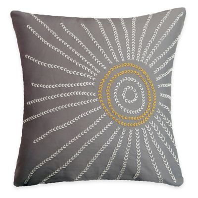SPUN™ by Welspun Threads With a Soul Spring Sun Handcrafted Throw Pillow