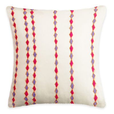SPUN™ by Welspun Threads With a Soul Pink City Handcrafted Throw Pillow