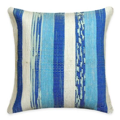 SPUN™ by Welspun Threads With a Soul Maritime Handcrafted Throw Pillow