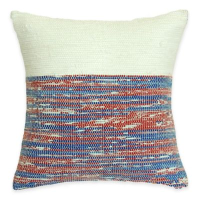 SPUN™ by Welspun Threads With a Soul Midnight Merlot Handcrafted Throw Pillow