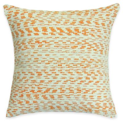 SPUN™ by Welspun Threads With a Soul Creamsicle Handcrafted Throw Pillow