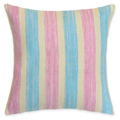 SPUN™ by Welspun Threads With a Soul Cotton Candy Handcrafted Throw Pillow
