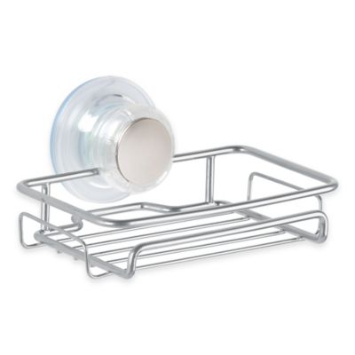 InterDesign® Turn-N-Lock Suction Soap Dish