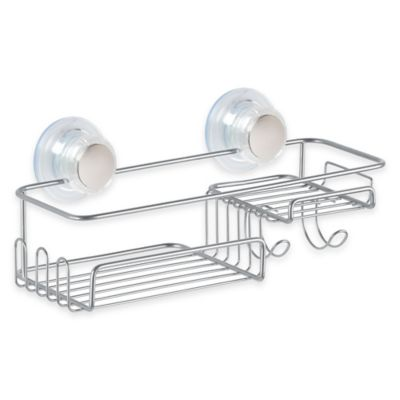 InterDesign® Turn-N-Lock Combo Suction Basket