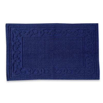 Blue Stone Court Ashwin 21-Inch x 32-Inch Bath Rug