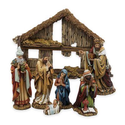 Kurt Adler 7-Piece Nativity Set
