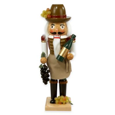 Kurt Adler 15-Inch Wine Grower Nutcracker