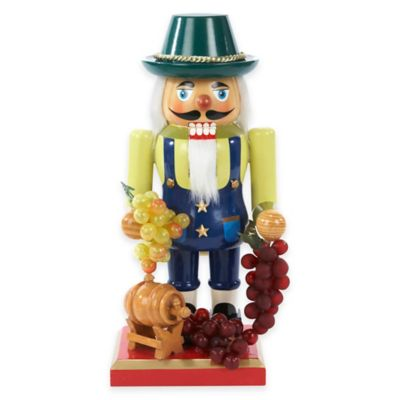 Kurt Adler 10-Inch Winemaker Nutcracker