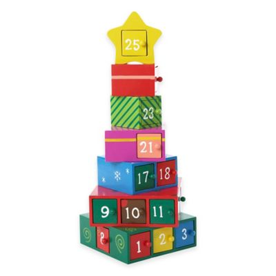 Kurt Adler 13-Inch Gift Tree Advent Calendar