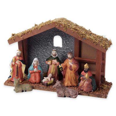 9-Piece Nativity Set