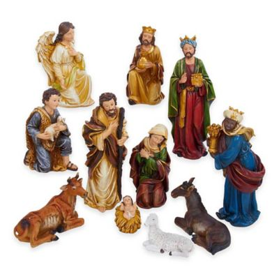 Kurt Adler 11-Figure Nativity Set
