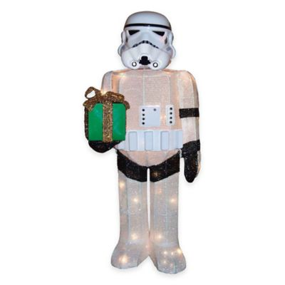 Kurt Adler 28-Inch Star Wars™ Pre-Lit Storm Trooper Lawn Decoration
