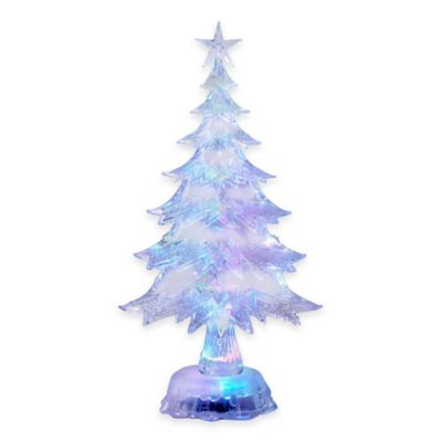 Kurt Adler 11-Inch LED Color-Changing Christmas Tree