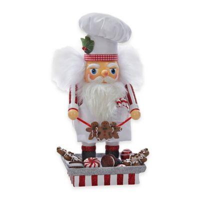 Red White Santa Nutcracker