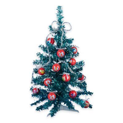 Kurt Adler 23-Inch Sesame Street 14-Piece Mini-Tree Set