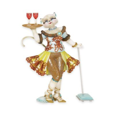 Kurt Adler 8-Inch Alley Cats Persia Community Service Table Piece