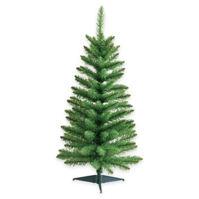 Kurt Adler 3-Foot Artificial Green Pine Christmas Tree