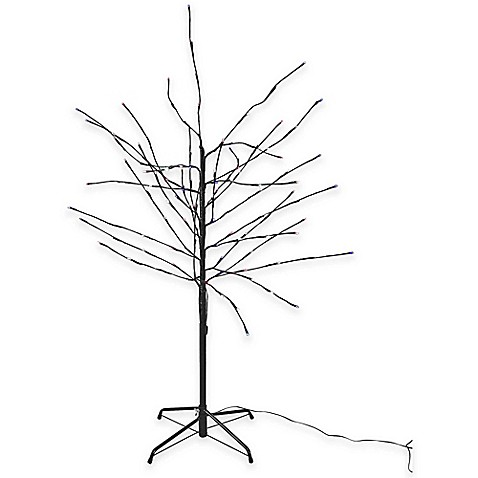 Kurt Adler 6-Foot Pre-Lit Gumball Brown Twig Christmas