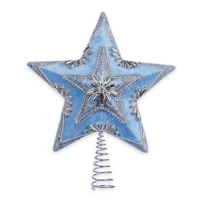 Blue/Silver Indoor Christmas Decorations