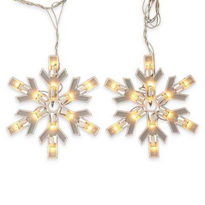 Kurt Adler150-Light Snowflake Miniature Light Set