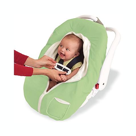 Kiddopotamus Car Seat Cover Green